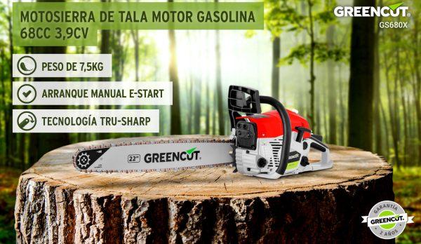 motosierra Greencut GS6800