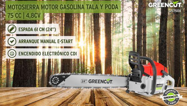motosierra Greencut GS7500