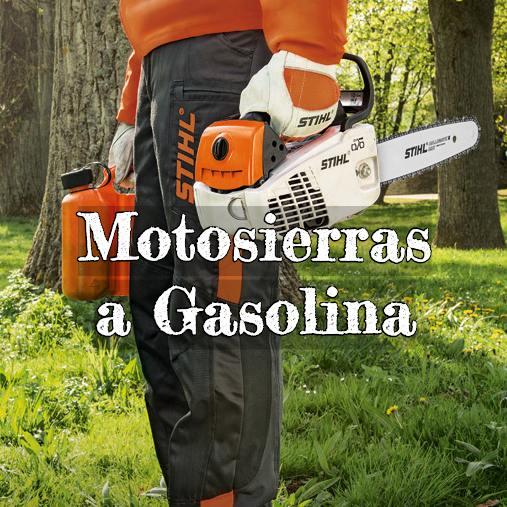 motosierras a gasolina