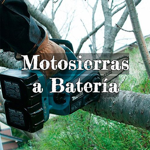motosierras bateria