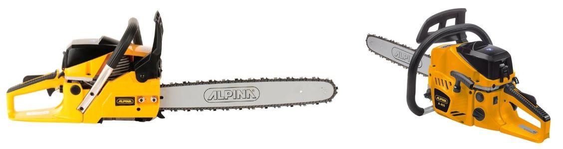 Motosierra Alpina A455