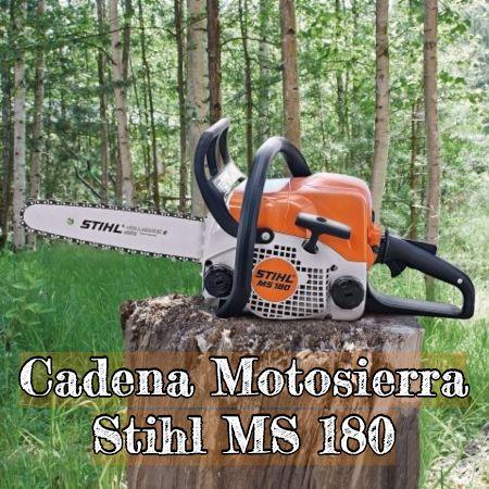 cadena para la motosierra Stihl ms 180