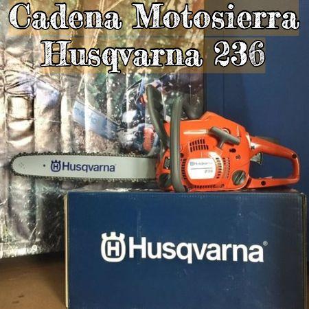 cadena para la motosierra husqvarna 236