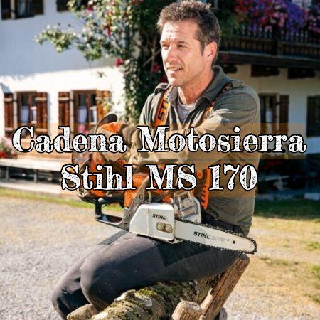 cadena para la motosierra stihl ms 170 original