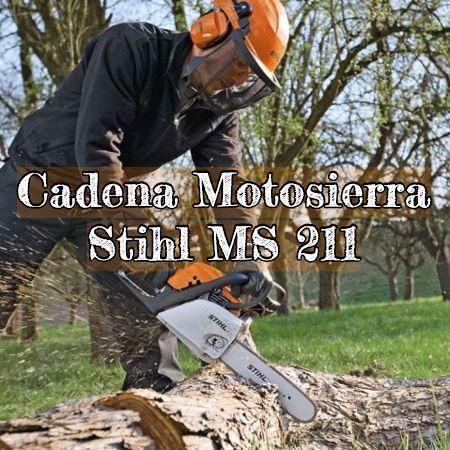 cadena para la motosierra stihl ms 211