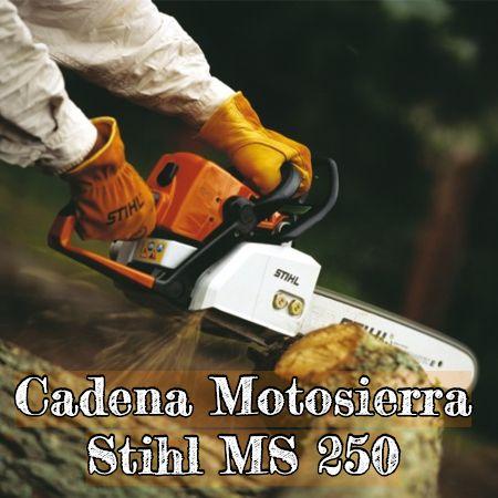cadena para la motosierra stihl ms 250
