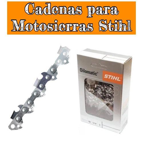 cadenas para motosierras stihl